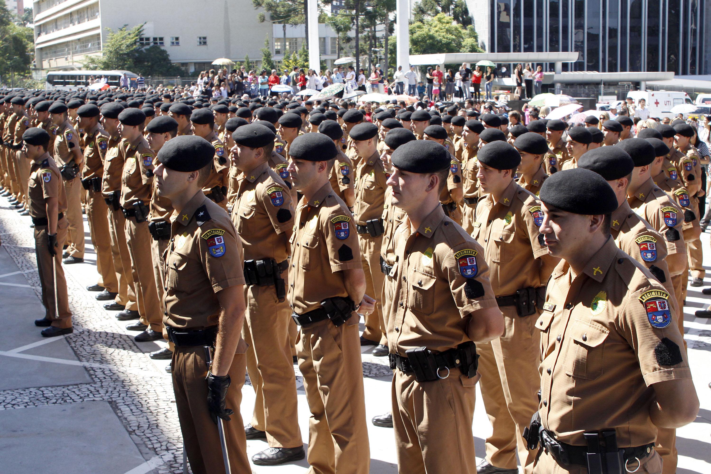 Prorrogado concurso da Polícia Militar do Paraná.Foto: Pedro Ribas/ANPr