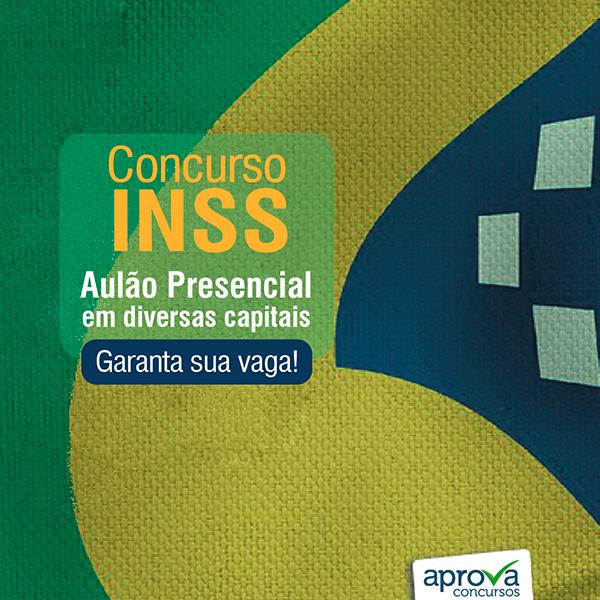 INSS auloes presenciais 2016