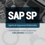 SAP SP temas mais cobrados