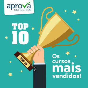 TOP 10 - Curso Online do TRT 2 segue como mais vendido