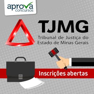 inscrições concurso TJ MG