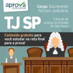 Concurso TJ SP - Revisão