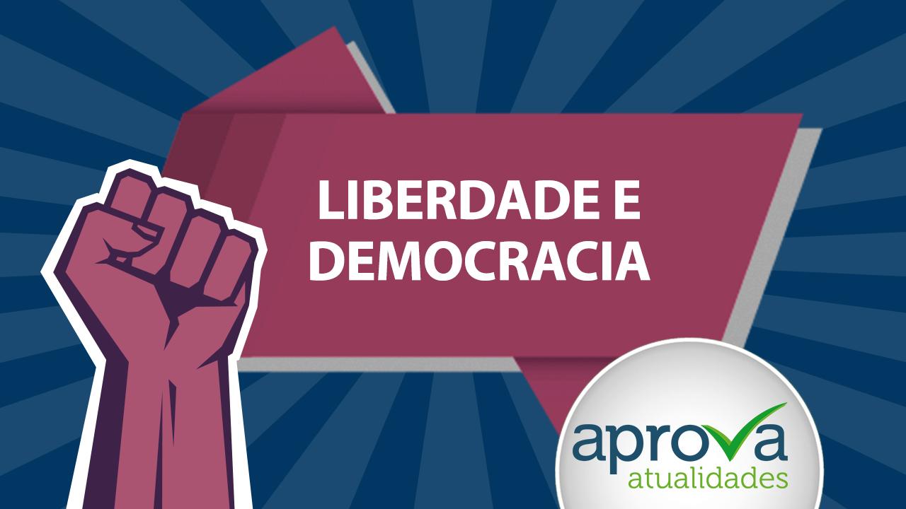 Aprova Atualidades 38 - Liberdade e Democracia