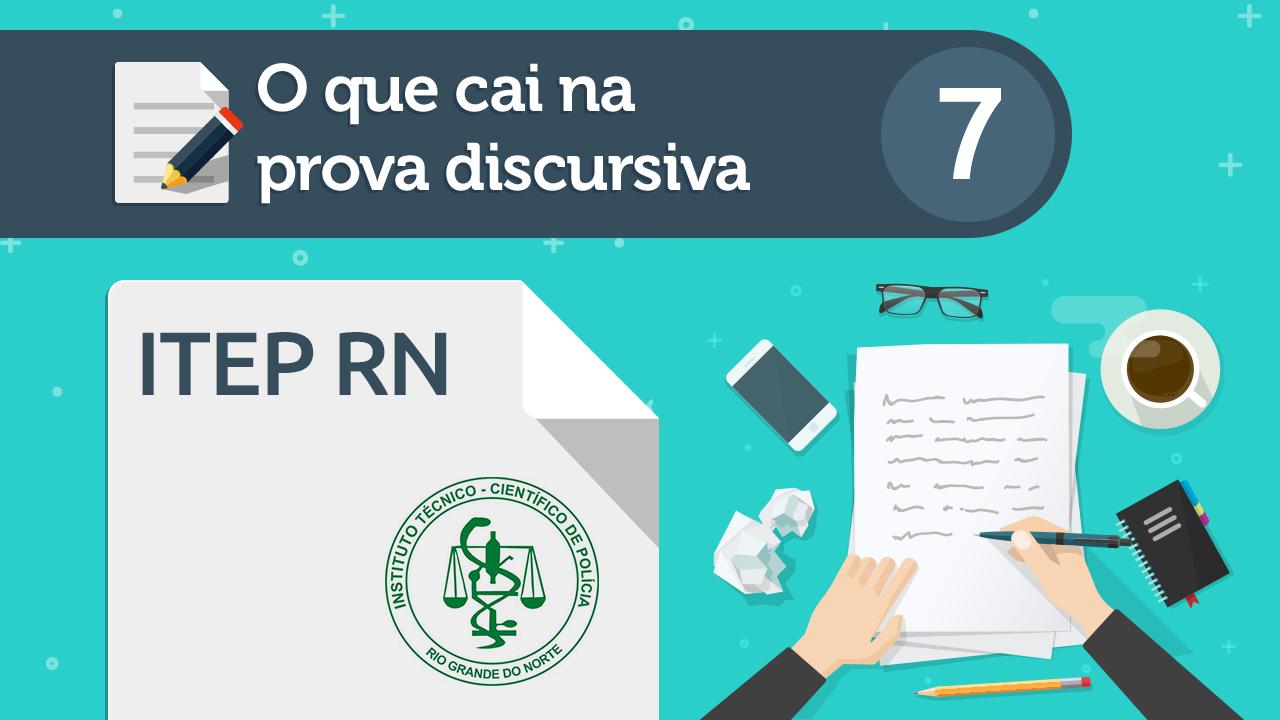 concurso do ITEP RN