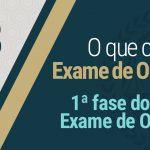 1ª fase do XXIV Exame de Ordem
