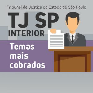 tj sp interior - temas mais cobrados