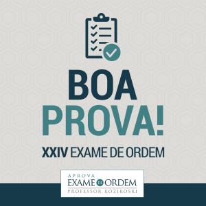 XXIV Exame de Ordem