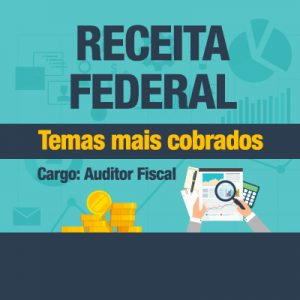 receita federal - temas mais cobrados