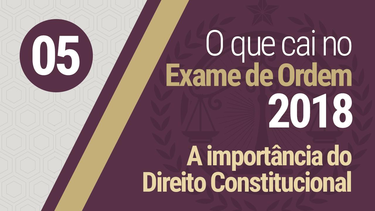 Importância do Direito Constitucional