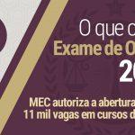 MEC autoriza abertura de 11 mil vagas em cursos de Direito