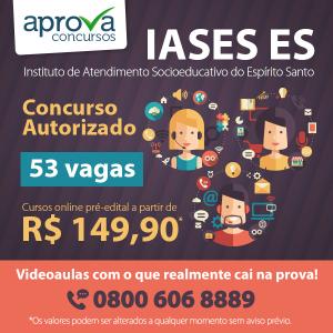 IASES é autorizado a realizar concurso com 53 vagas