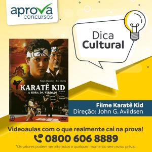 """Karatê Kid"" é a dica cultural desta semana"