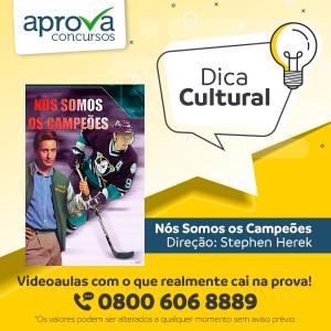 """Dica Cultural - """"Nós Somos os Campeões"""""""