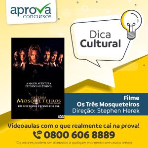 """Dica Cultural - """"Os Três Mosqueteiros"""""""