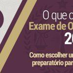 Curso preparatório para a OAB
