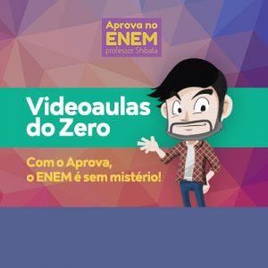 VIDEOAULAS DO ZERO para o ENEM