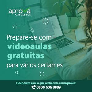 Videoaulas gratuitas para concursos